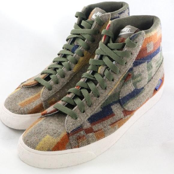 brand new 0ac5b 1f7b0 Nike Shoes | Id X Pendleton Blazer Multicolor Wool Sneaker | Poshmark